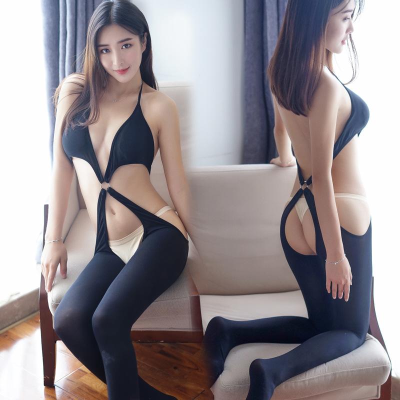 ชุดนอนเซ็กซี่ ยกกระชับ สีดำ
