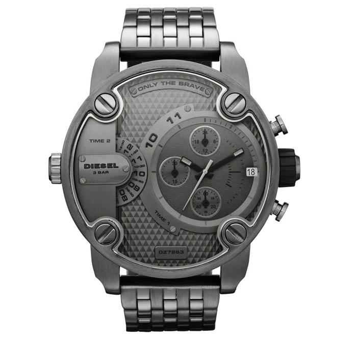 นาฬิกาข้อมือ ดีเซล Diesel Chronograph with Date Steel Men's watch รุ่น DZ7263