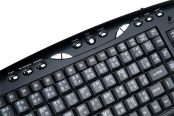 Signo KM-710 Multimedia Keyboard with USB+PS2
