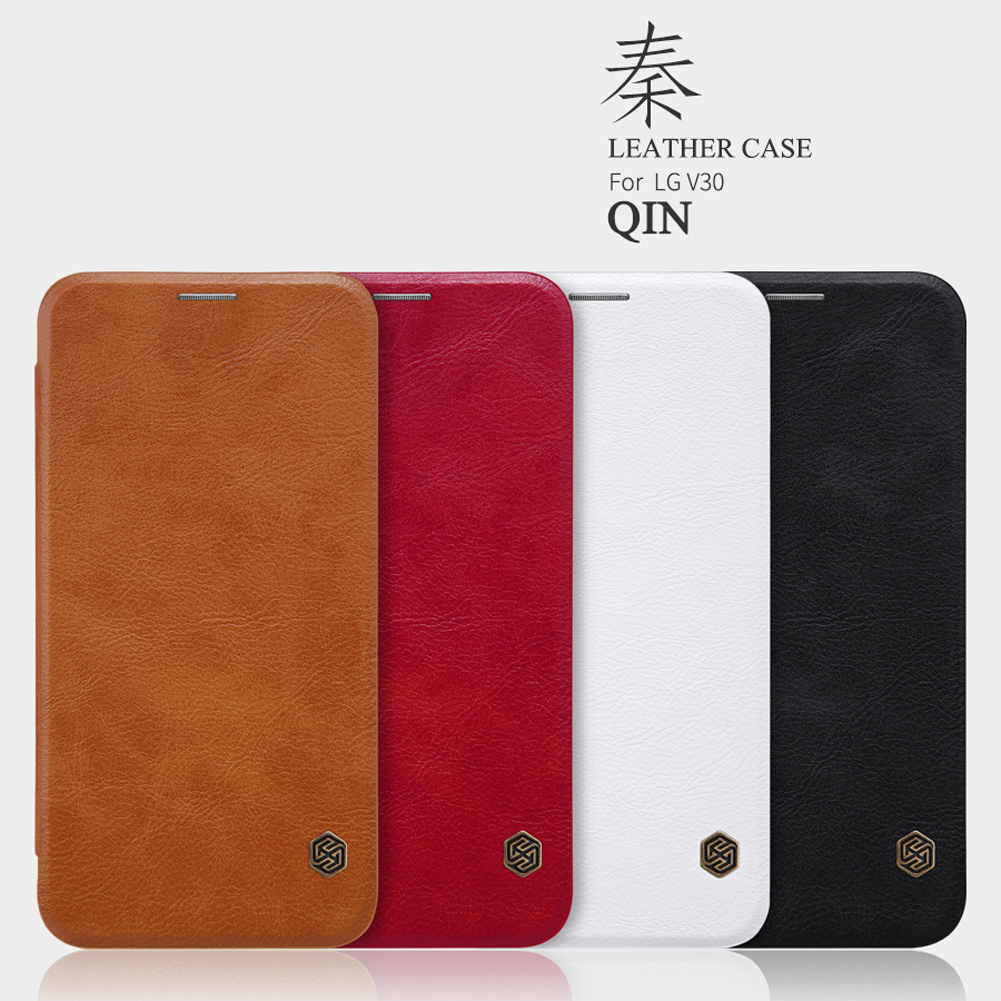 เคสฝาพับ NILLKIN Qin Leather Case LG V30