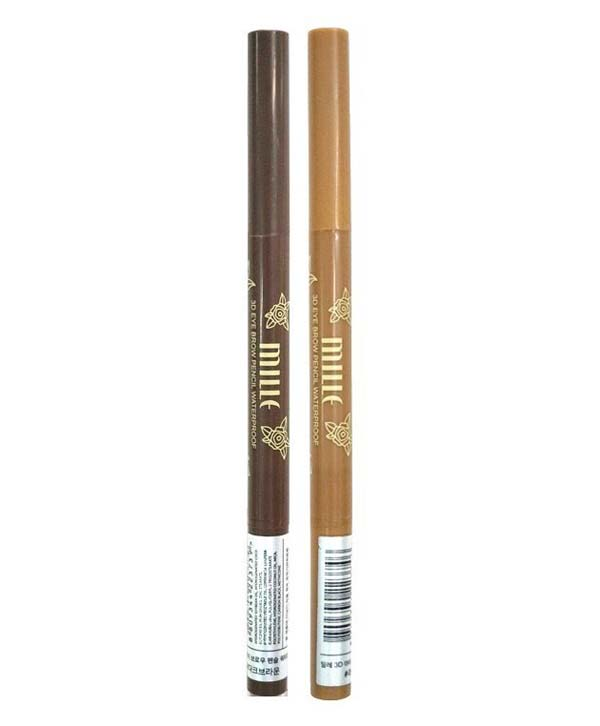 Mille 3D Eyebrow Waterproof #Light Brown
