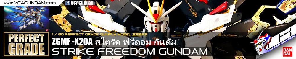 PG STRIKE FREEDOM GUNDAM สไตร์ค ฟรีดอม กันดั้ม