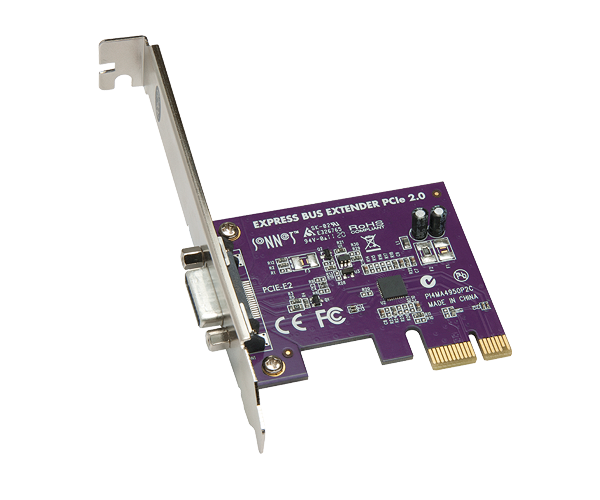 Sonnet PCIe Bus Extender Card PCIe 2.0 External for All Qio models [for Mac & Thunderbolt]