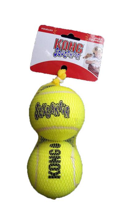 """ลูกเทนนิส Kong ขนาดใหญ่ 2 ลูก (Large 3"""")"""