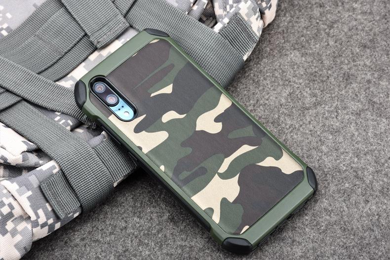เคสลายพราง / ลายทหาร NX CASE Camo Series Huawei P20 Pro
