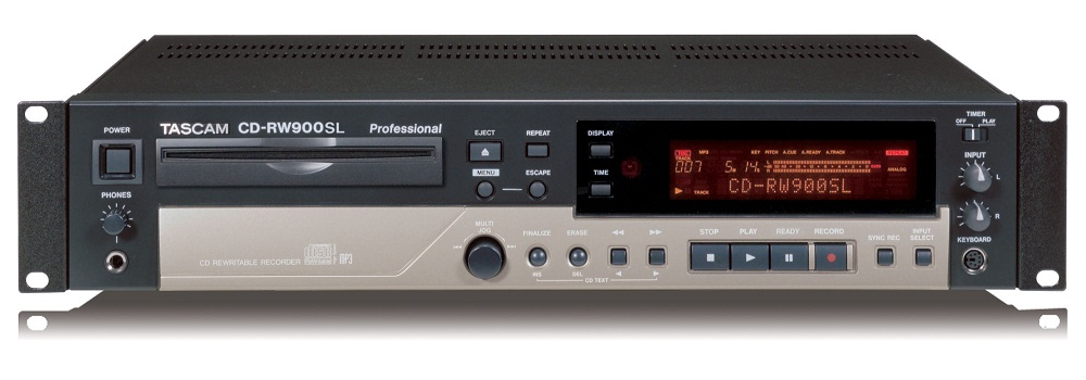 TASCAM CD-R900/900SL compact Disc Recorder Undalanced.Optical.Coaxial