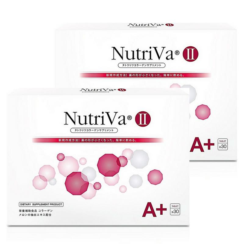 ใหม่! NutriVa A+ 30 เม็ด x 2 กล่อง ส่งฟรี EMS