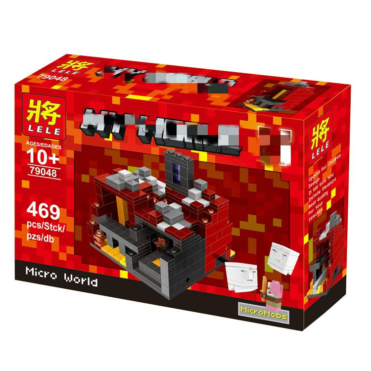 เลโก้จีน LELE 79048 ชุด Minecraft