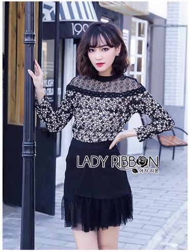 Tube Lady Ribbon ขายเสื้อแขนยาว