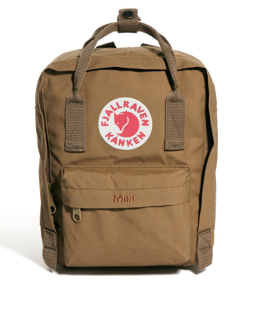 กระเป๋า Fjallraven Kanken Mini สี Sand น้ำตาลอ่อน พร้อมส่ง