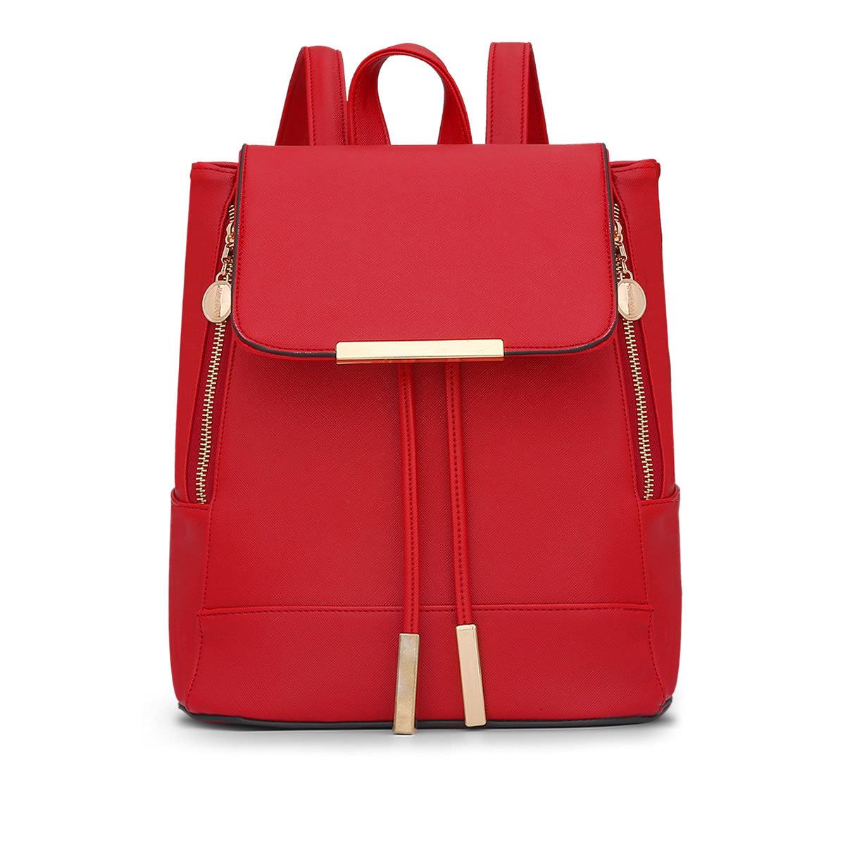 ขายส่ง กระเป๋าเป้ สะพายหลัง แฟชั่นเกาหลี Sunny-731 สีแดง 1 ใบ