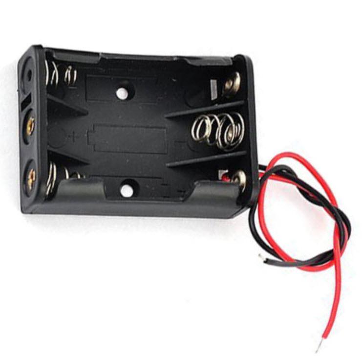 กล่องแบตเตอรี่ 3 x AAA (4.5V)