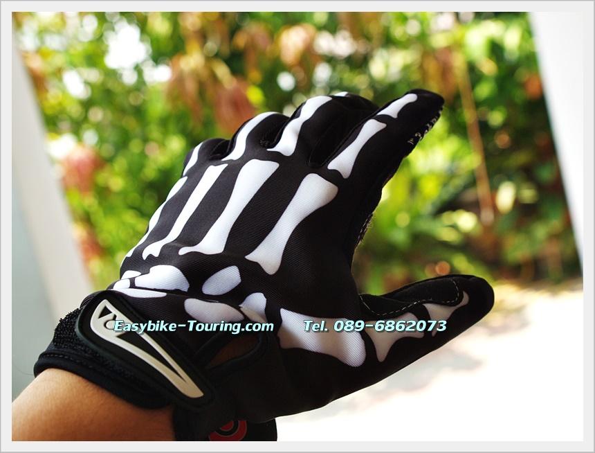 ถุงมือเต็มนิ้ว สัมผัสมือถือได้