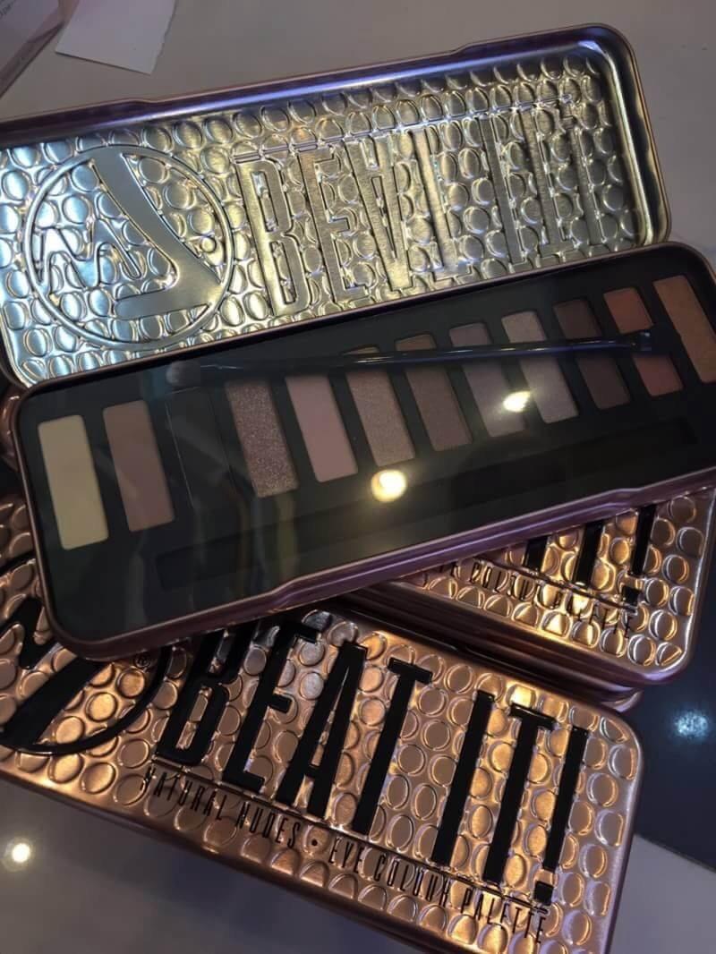 ใหม่ล่าสุด!! #W7 Beat It! Natural Nudes Eye Color Palette