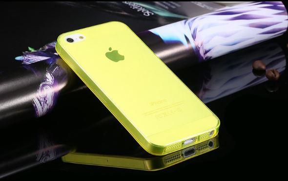 เคสไอโฟน4/4s เคสtpuนิ่มโปร่งแสงหลากสี