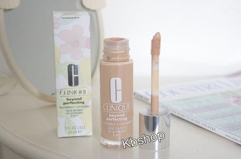 #Clinique Beyond Perfecting Foundation + Concealer SPF 19/PA++