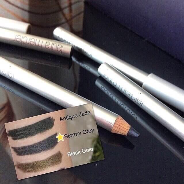 #LAURA MERCIER Kohl Eye Pencil Stormy Grey สีเทาดำ( 0.85g)