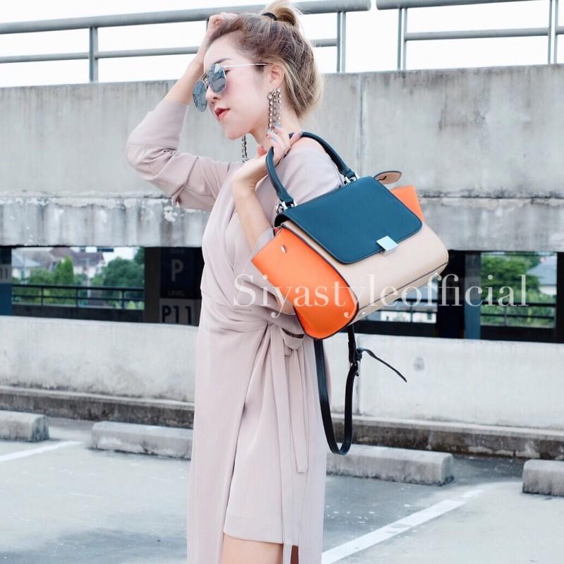 กระเป๋าสะพายแฟชั่น กระเป๋าสะพายข้างผู้หญิง Days bag [สีส้ม]
