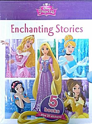 Disney 5 Book Slipcase Princess Enchanting Stories