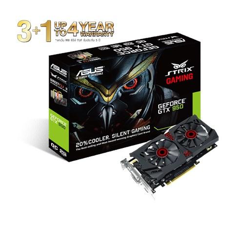 ASUS GTX950 STRIK OC 2GB