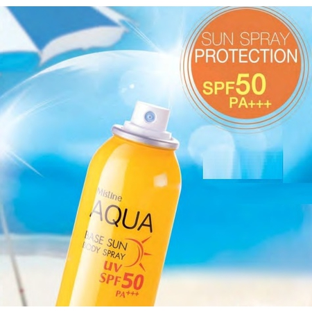 Mistine Aqua Base Sun Body Spray SPF 50 PA+++ 100 ml