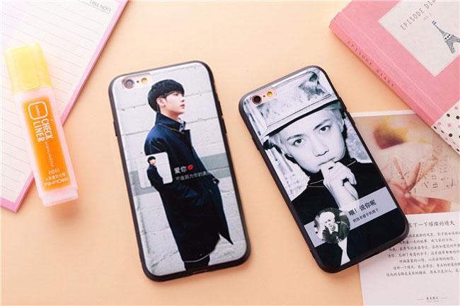 ขอบยาง นักร้องเกาหลี - เคส iPhone 6 Plus / 6S Plus