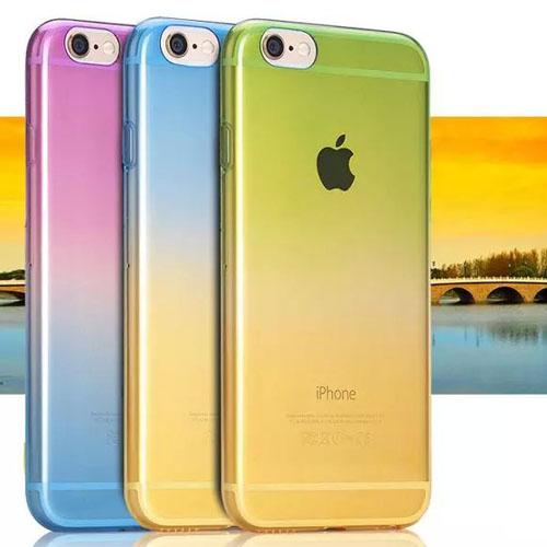 เคสใส สีต่างๆ (เคสยาง) - iPhone4