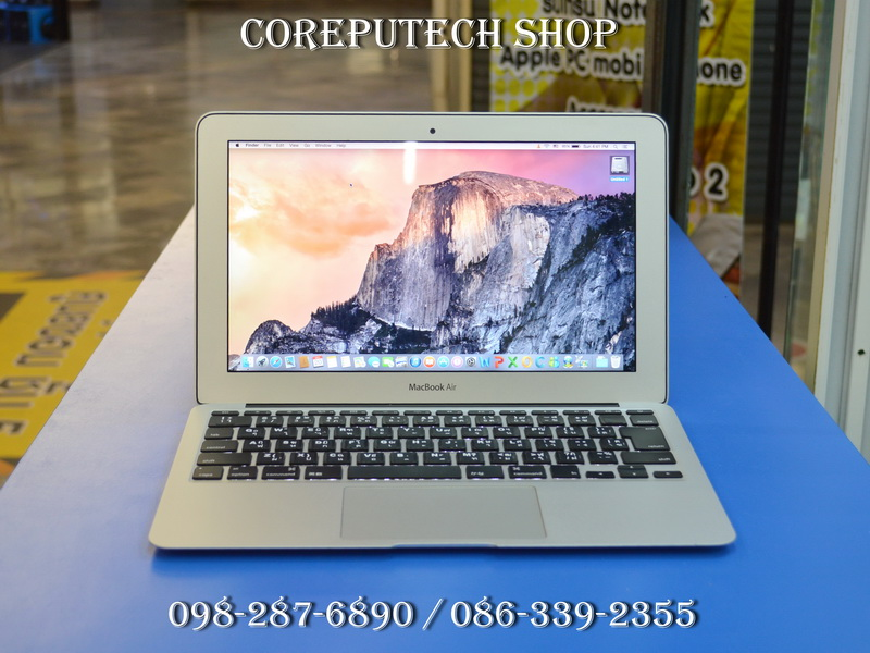 MacBook Air 11-inch Intel Core i5 1.6GHz. Ram 2GB SSD 64GB Mid 2011.