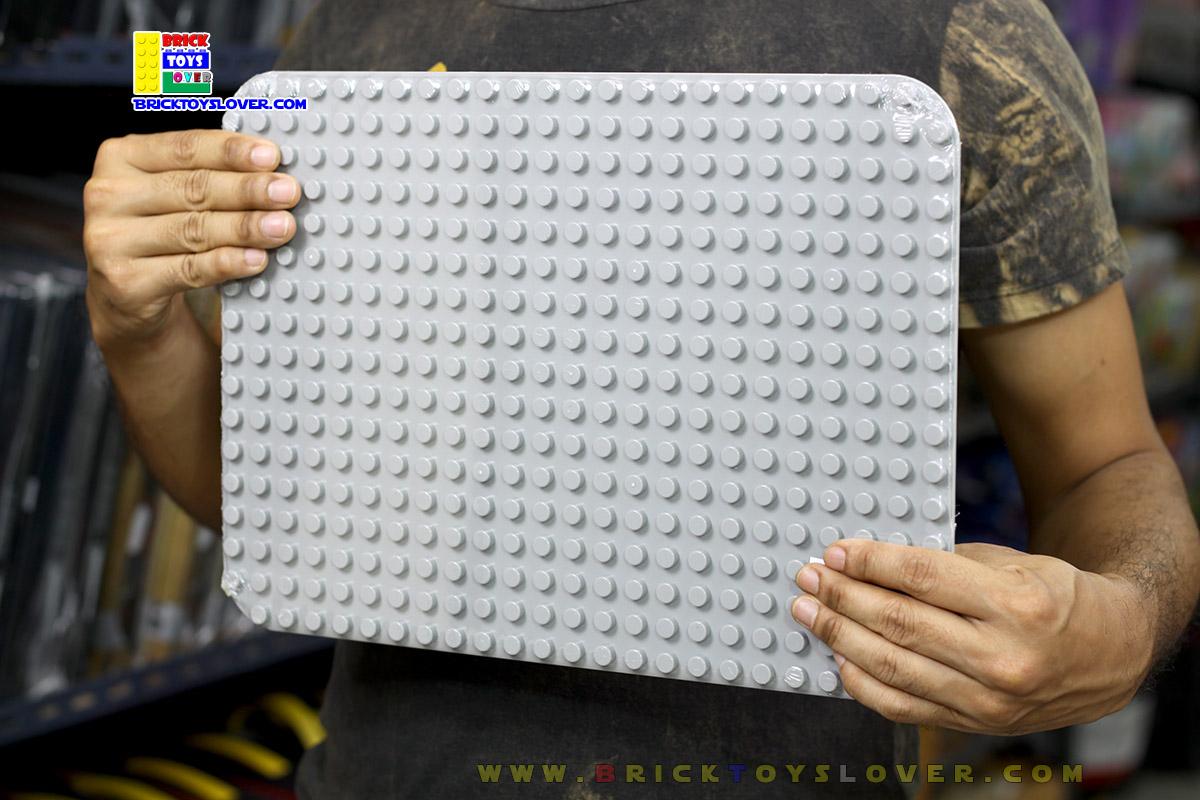 แผ่น Plate สำหรับชิ้นส่วนขนาดใหญ่ Duplo ขนาด 38.5x27 Cm.