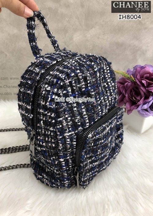 Zara Mini Backpack Bag พร้อมส่งค่ะ look like chanel !!!