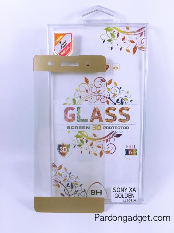 ฟิล์มกระจก Sony XA เต็มจอสีทอง