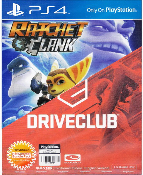 Ratchet & Clank / DriveClub Dual Pack