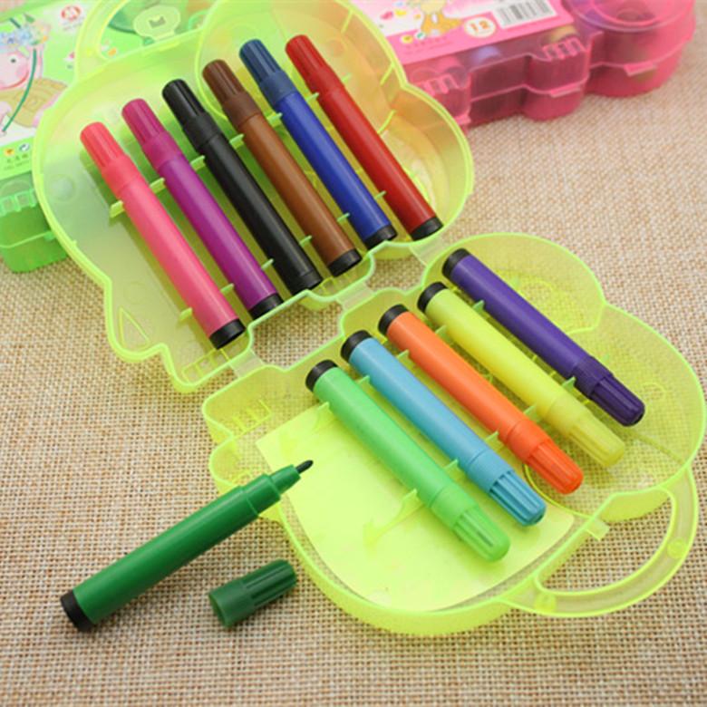 ชุด12 ดินสอสีคุณหนู