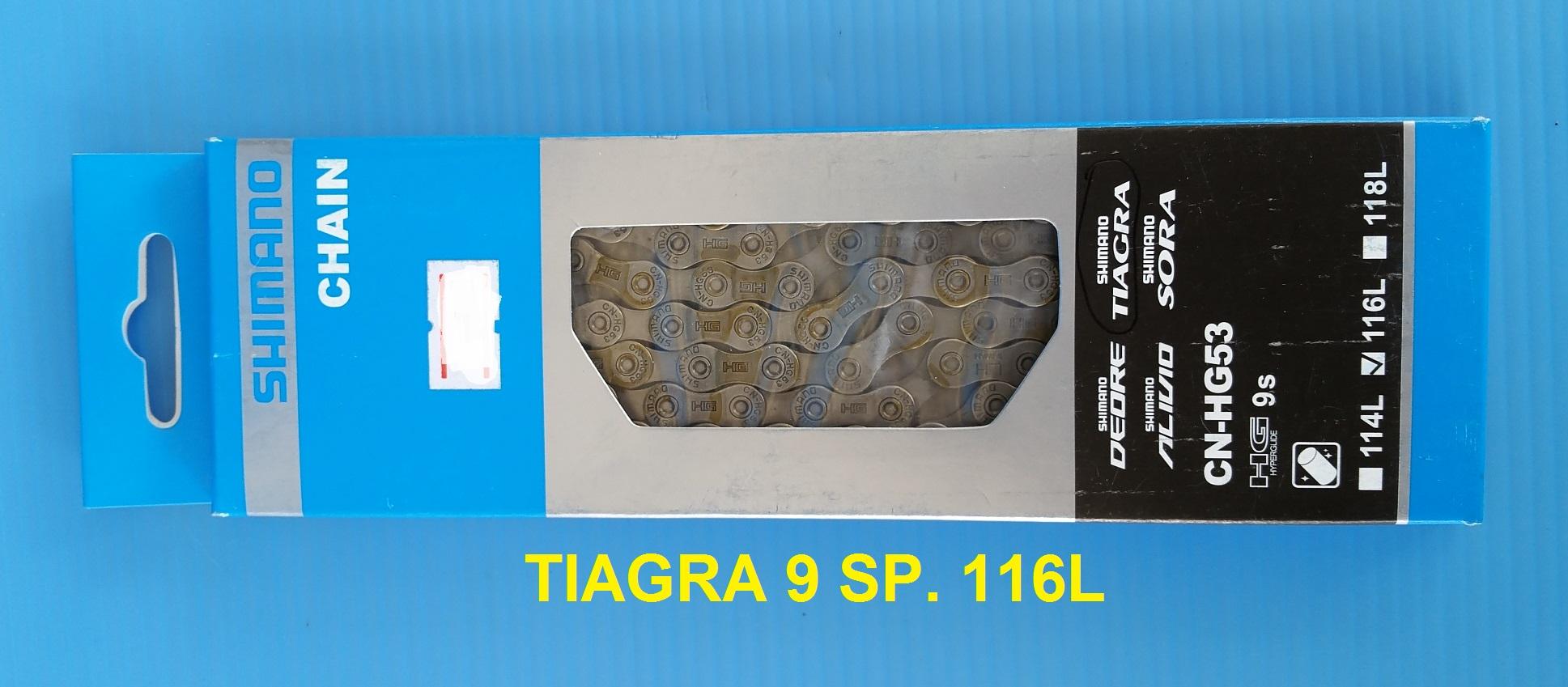 โซ่ Shimano TIAGRA CN-HG53 9 Speed