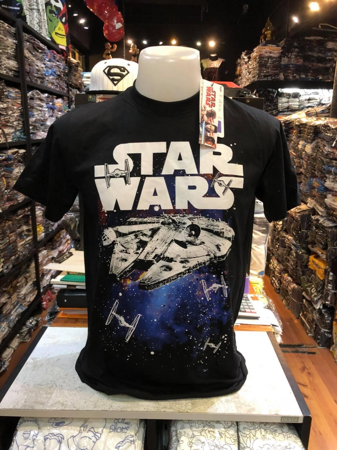 สตาร์วอร์ สีดำ (Starwars Millennium Falcon)