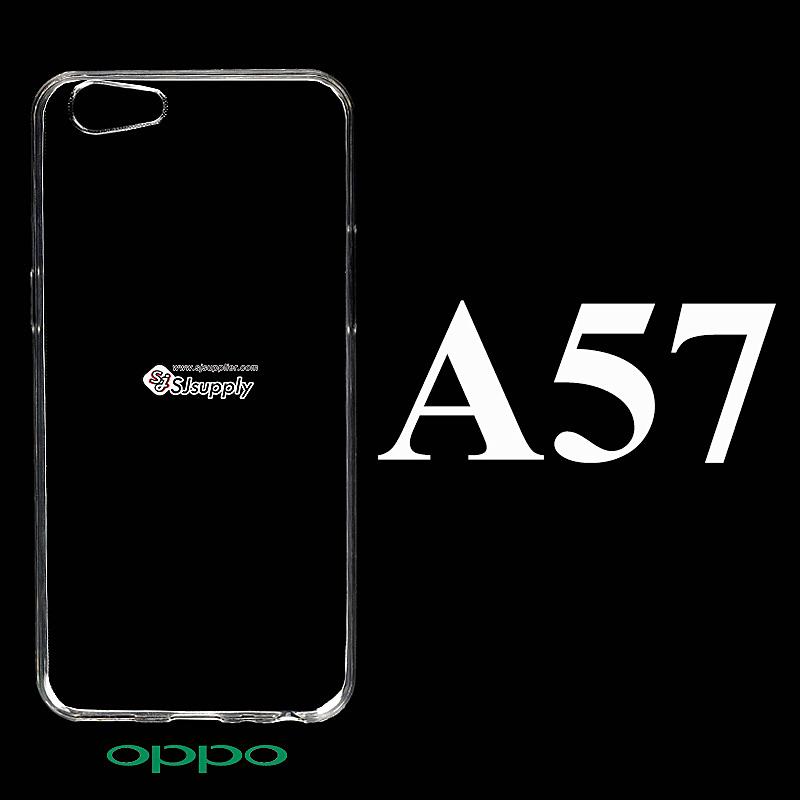 เคส Oppo A57 ซิลิโคน สีใส