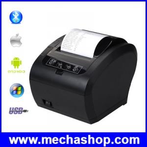 เครื่องพิมพ์ใบเสร็จ เครื่องพิมพ์สลิป ตัดกระดาษอัตโนมัติ 80mm Thermal Receipt Printer Automatic Cutter POS Printer รองรับ USB + Ethernet