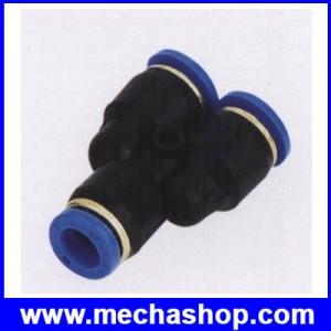 ขั้วต่อลม ข้อต่อลม อุปกรณ์ลม SPY-4 SPY series Y union (PY4) ขนาดท่อ 4 mm.