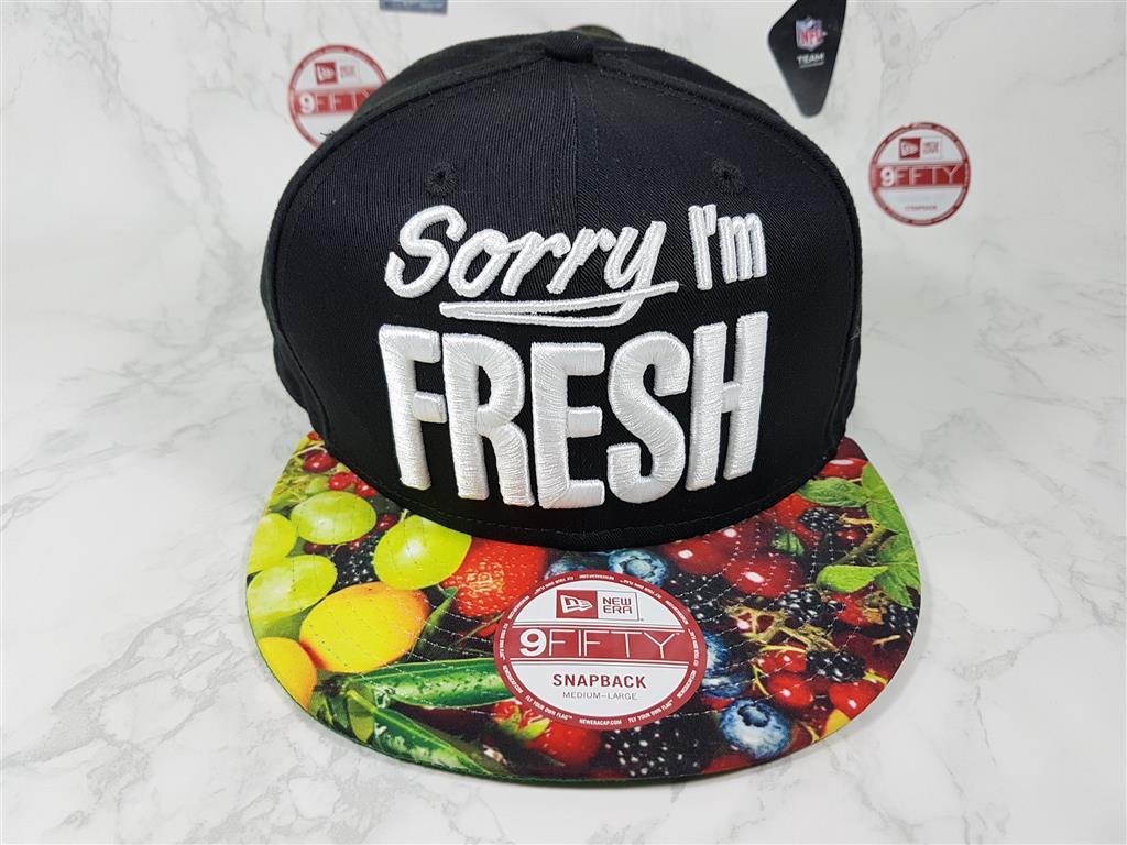 New Era Sorry i'm Fresh ฟรีไซส์ Snapback