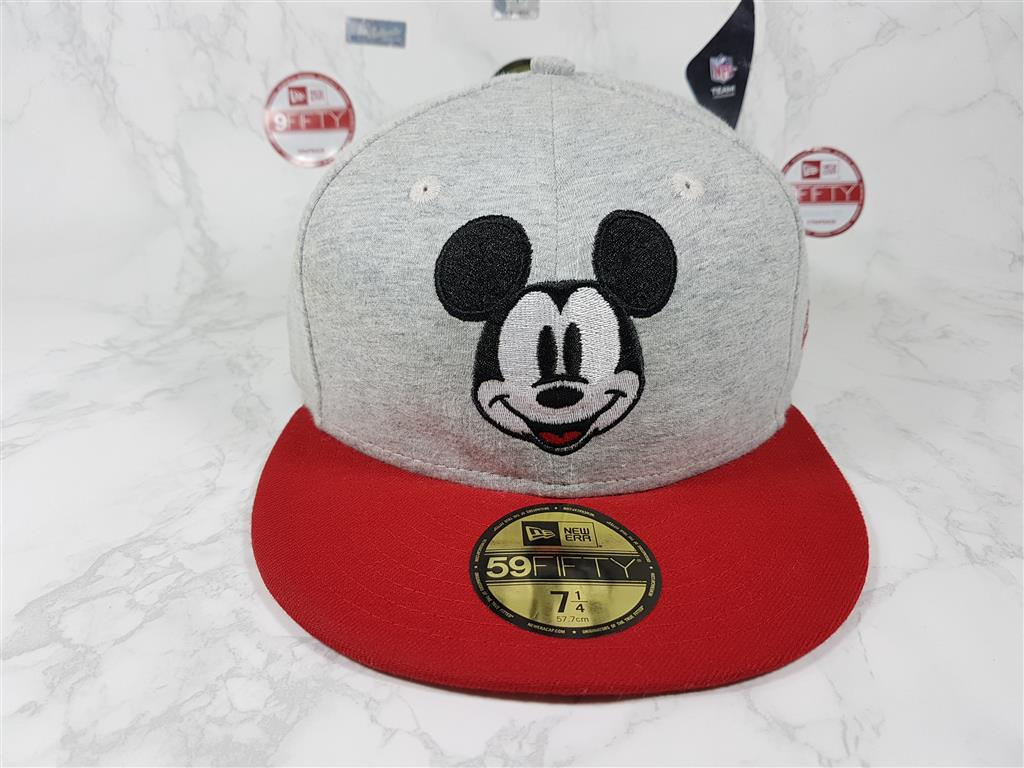 New Era x Mickey Mouse ไซส์ 7 1/4 วัดได้ 58.7cm