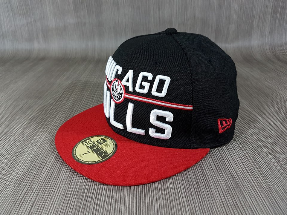 New Era NBA ทีม Chicago Bulls 🎃Fitted ไซส์ 7 55.8cm