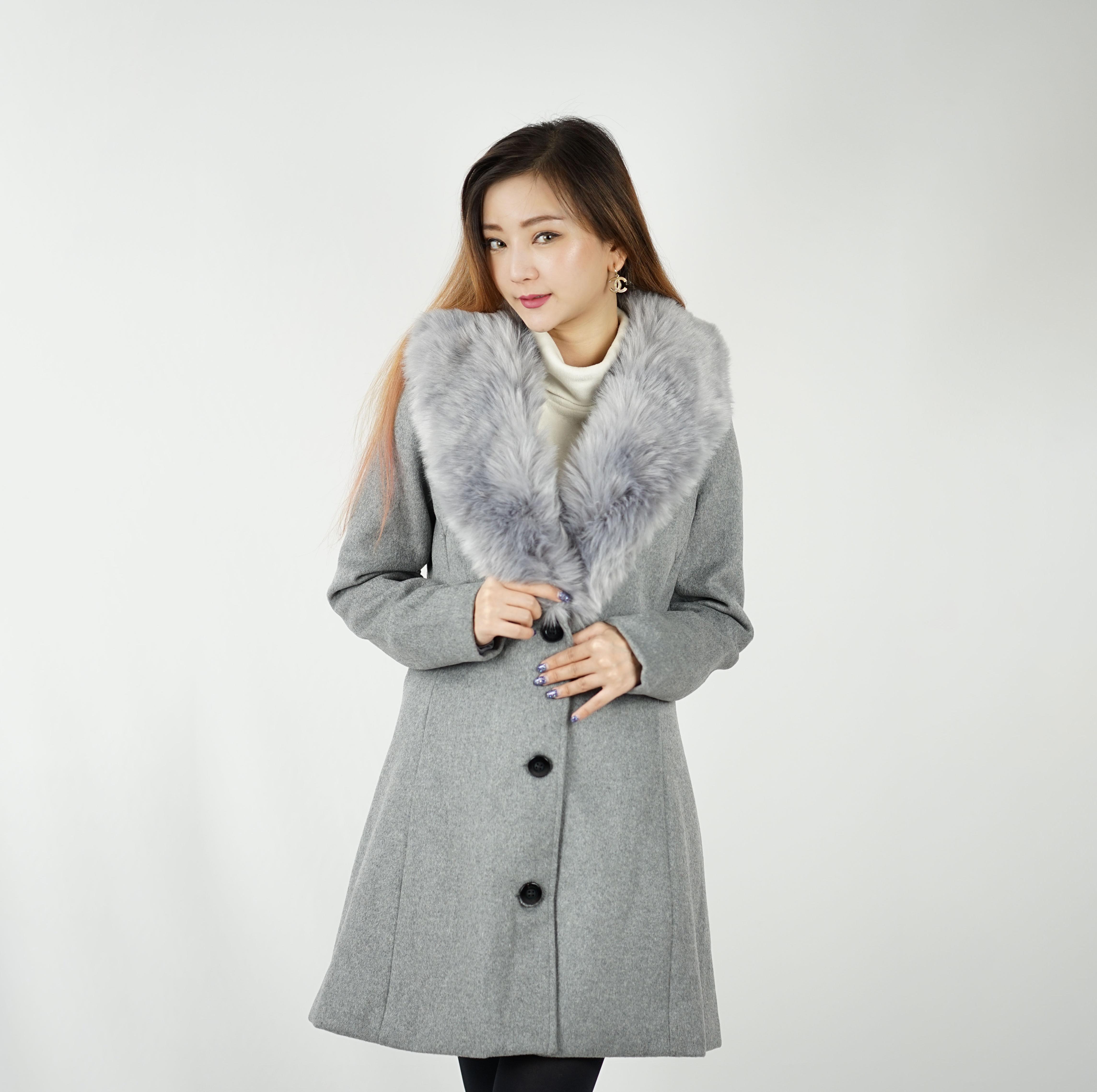 Overcoat Classic Belt - Grey