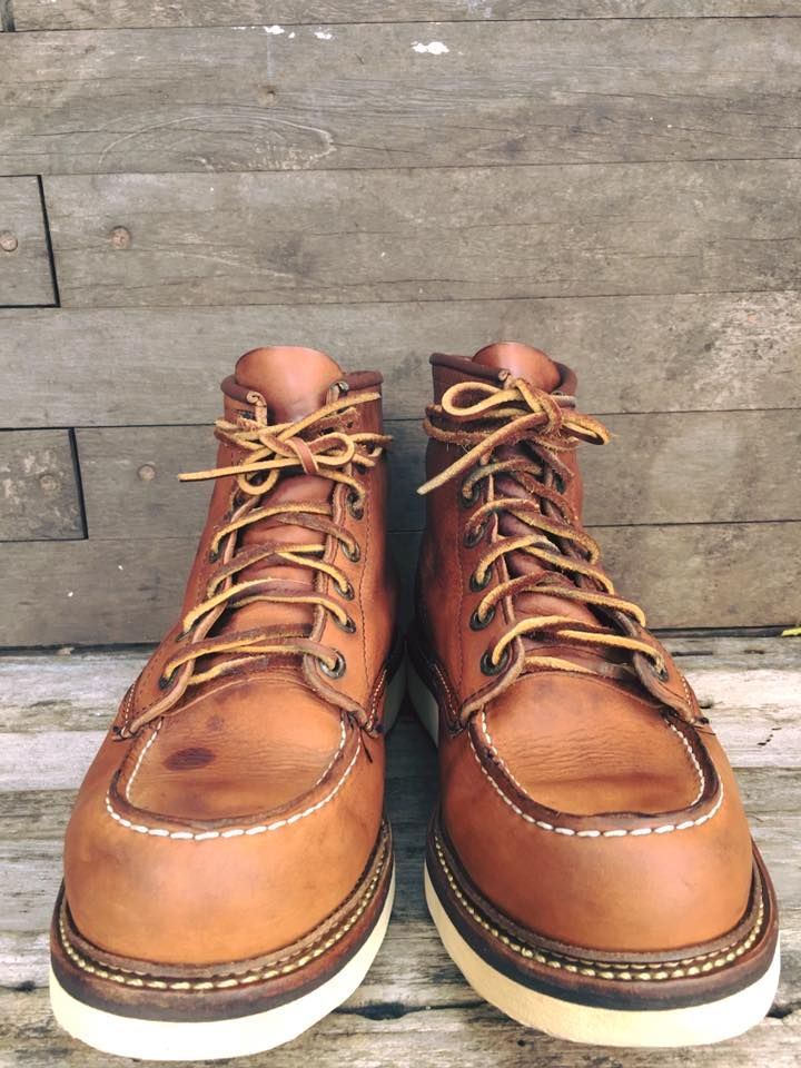 Red wing 1907 size 7D