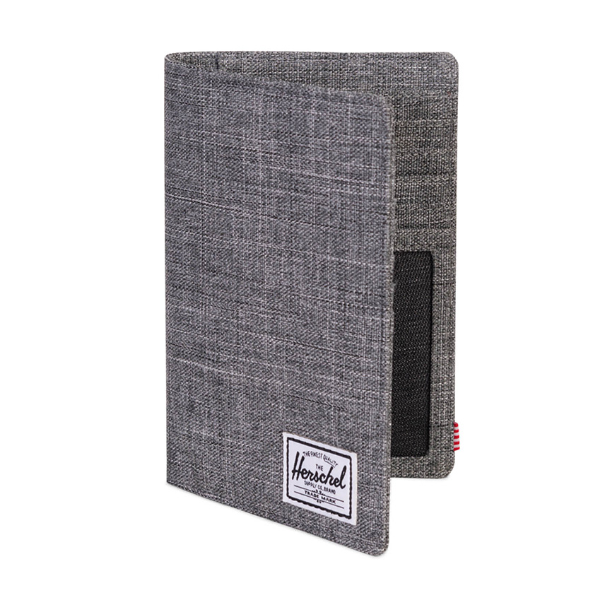 Herschel Search Passport Holder - Raven Crosshatch / RFID - ด้านข้าง