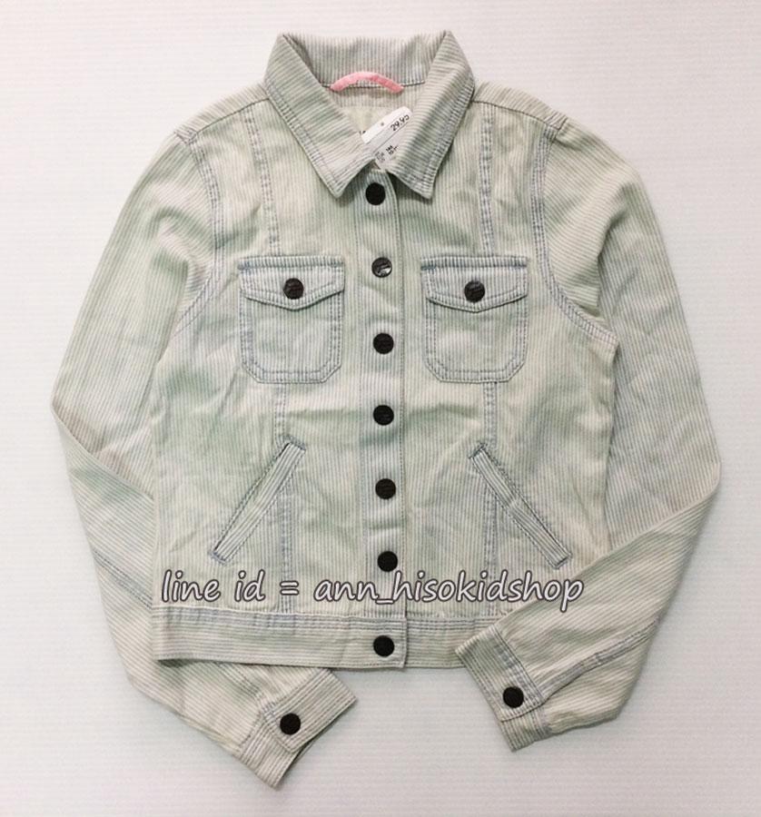 1972 H&M Jeans Jacket ขนาด 8-9,9-10,10-11,12-13 ปี (ส่งฟรี สทบ.)