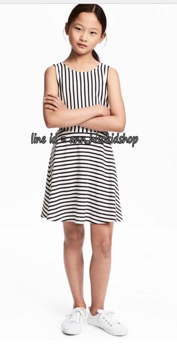 1868 H&M Dress -Black/White ขนาด 12-14 ปี