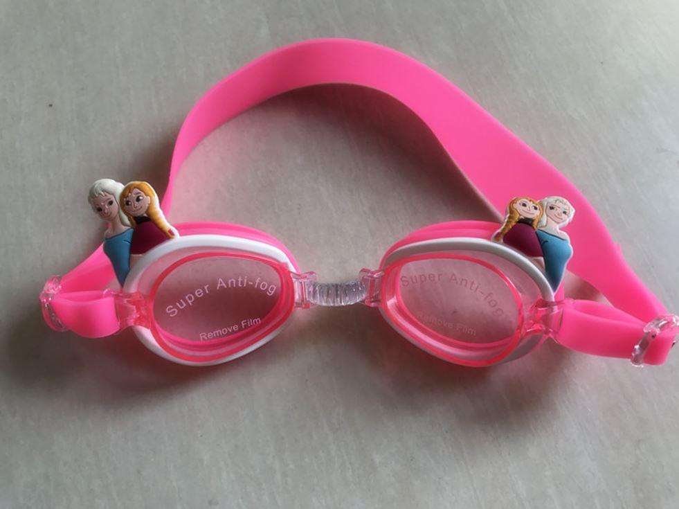 แว่นตาว่ายน้ำเด็ก เอลซ่า- แอนนา ตัวสายปรับได้