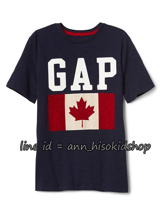 2026 GAP KIDS T-Shirt - Navy Blue ขนาด 8-9 ปี