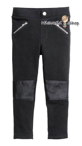 1079 H&M Legging - Black ขนาด 6-7 ปี