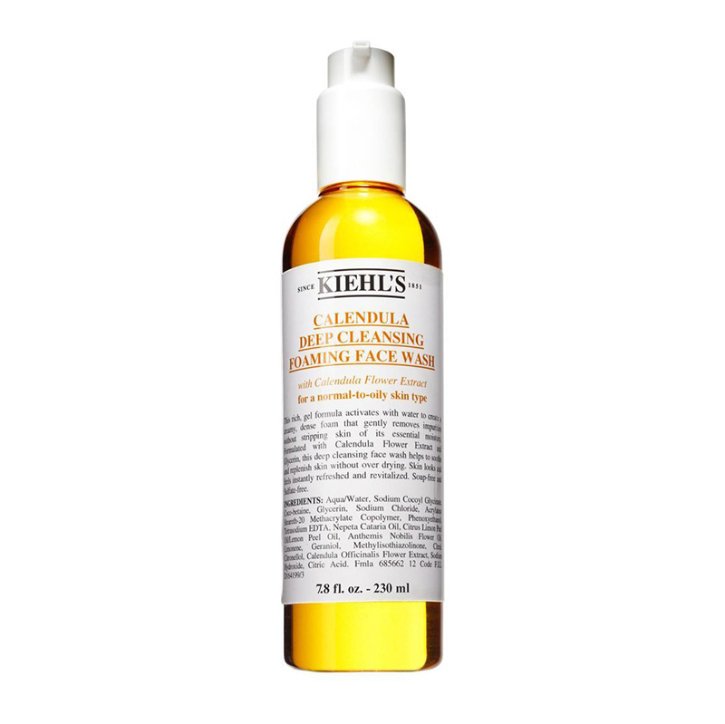 Kiehl's Calendula Deep Cleansing Foaming Face Wash 230ml